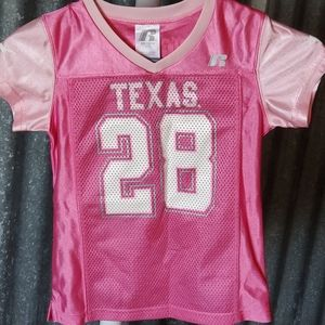 Texas Longhorns Girl's Football Jersey
